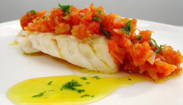 Bor um meiri fisk ektafiskur - Bacalao fresco con tomate ...