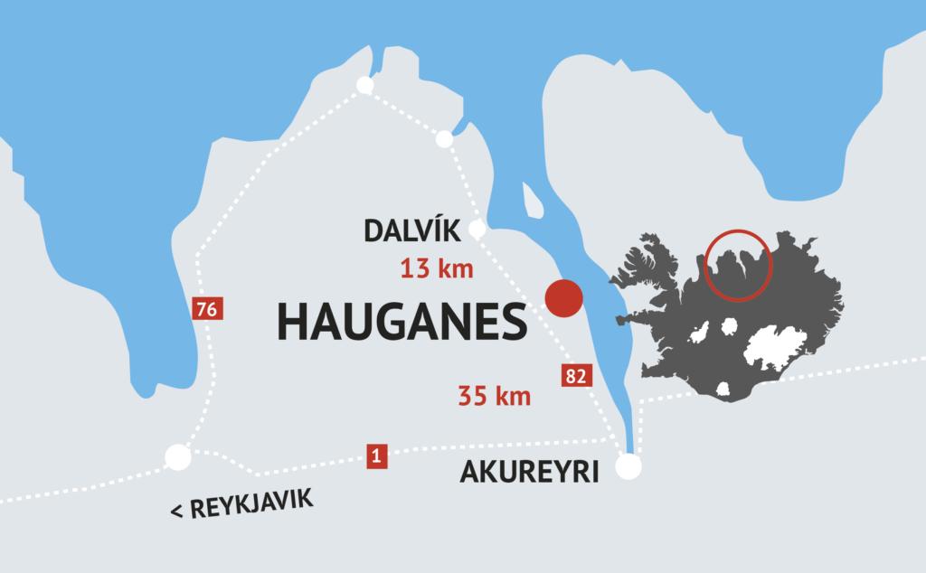 Heitu pottarnir á Hauganesi